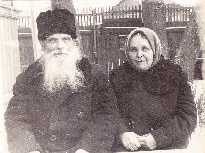 Протоиерей Александр Ильин и его супруга Александра