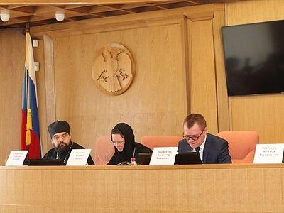 Представители Русской Церкви приняли участие в обсуждении вопросов антитеррористической защищенности объектов религиозных организаций