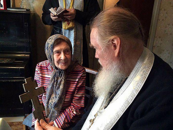 С духовным отцом - архимандритом Гурием (Кузьминым). Санкт-Петербург 2015 год