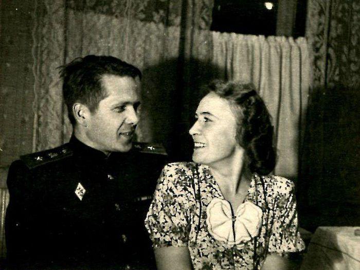 Сергей и Зоя Афонины 1950-е годы