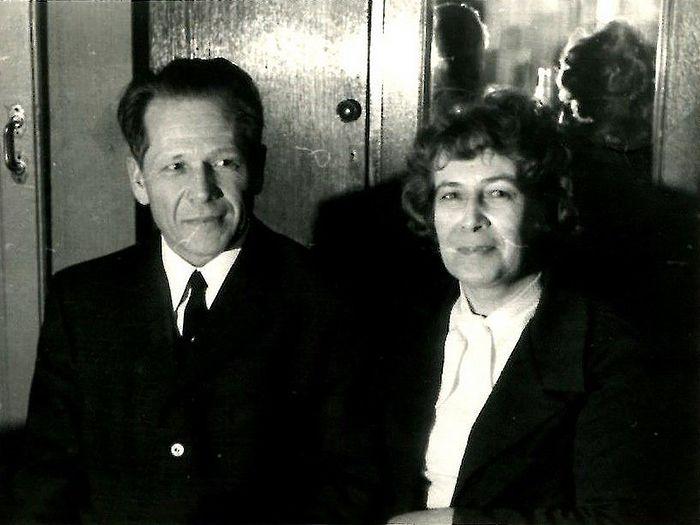 Сергей Константинович и Зоя Константиновна. Ленинград, 1972 год