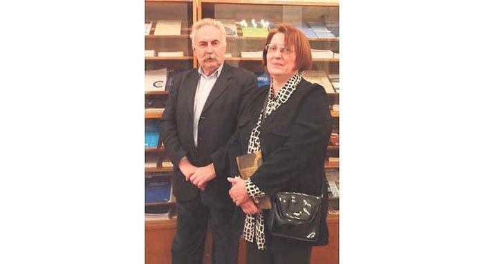 Радомир Ковачевић и Светлана Жунић (Фото Д. Жарковић)