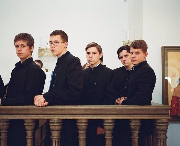 Анатолий – учащийся православной Варницкой гимназии