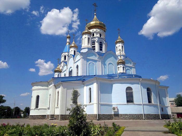 Свято-Покровский собор города Шахты в настоящее время