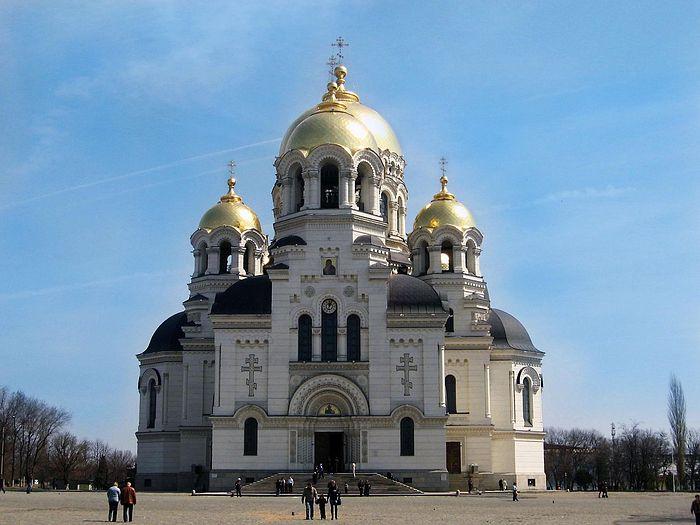 Вознесенский собор в Новочеркасске в настоящее время
