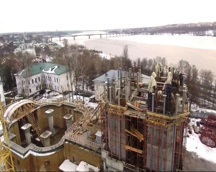 Восстановление Костромского кремля