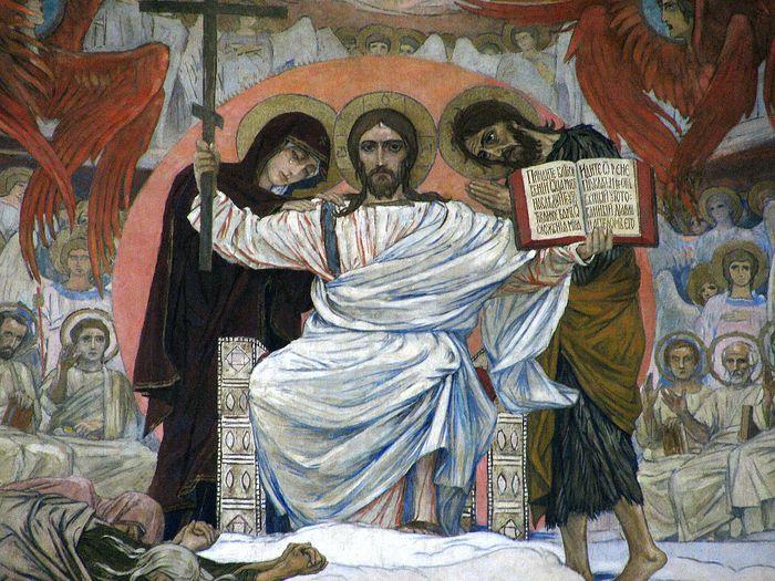 Страшный Суд. Фрагмент фрески