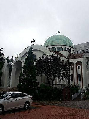 Собор Св. Николая Чудотворца в Сеуле