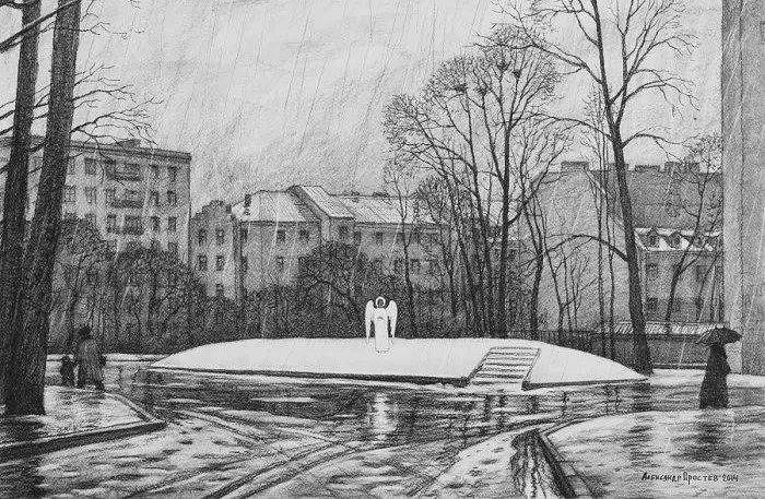 А. Простев. Матфиевский сад