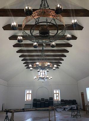 Восстановленное здание трапезной используется и для проведения мероприятий и конференций