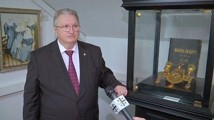 Александр Ренжин. Фото: Телеканал 'Царьград'
