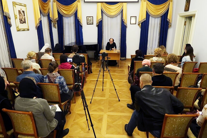 В Марфо-Мариинской обители стартовал лекторий по истории Русской Православной Церкви в XX веке