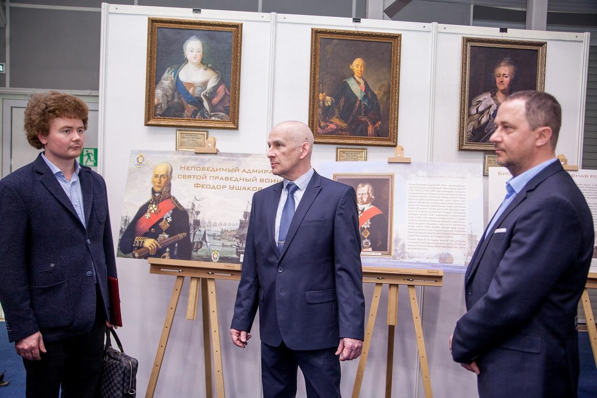 В Ярославле открылась выставка «Непобедимый адмирал: Святой праведный воин Феодор Ушаков»
