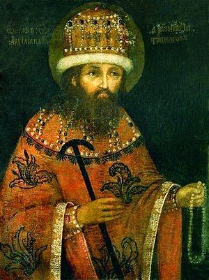 Прп. Дионисий Радонежский. Портрет. XVIII в. (?) (ТСЛ)