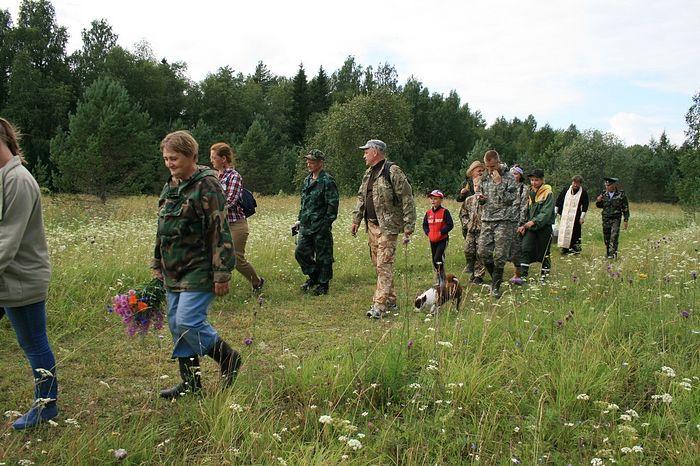 Первые путники по новому маршруту. Фото Ксении Шамаковой