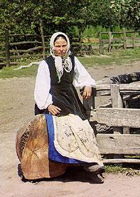 В Малороссии. Фотография начала XX века С.М.Прокудина-Горского.