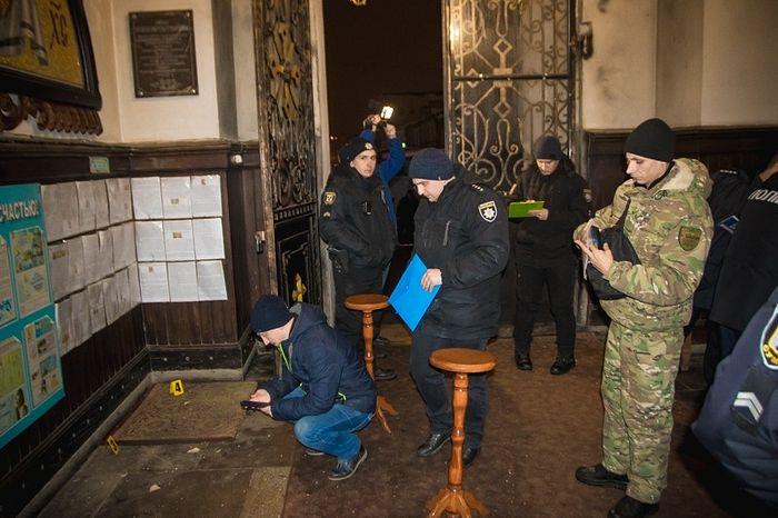 В Спасо-Преображенском соборе г. Сумы во время богослужения в канун праздника Богоявления произошел взрыв
