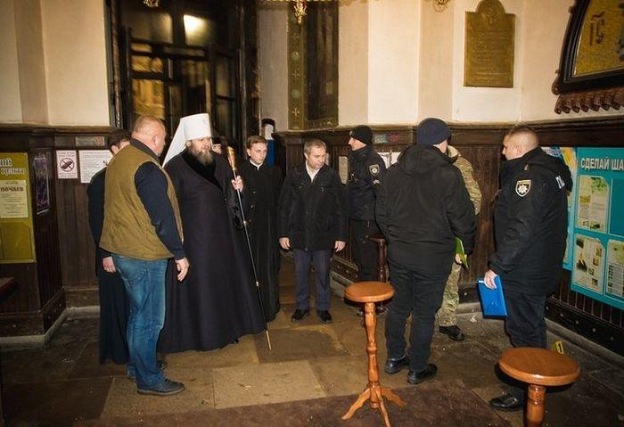 Установлены лица, причастные к взрыву в Спасо-Преображенском соборе г. Сумы