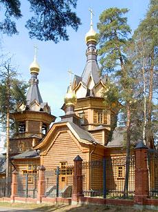 Барвиха. Храм Покрова Пресвятой Богородицы. 2001 г.