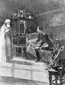 Явление прп. Саввы Сторожевского вице-королю Италии Евгению Богарнэ
