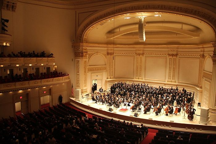Carnegie Hall. Φωτογραφία: Princess Ruto / Flickr
