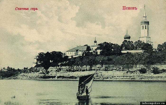В ближайшее время начнутся работы по укреплению берега реки у Снетогорского монастыря в Пскове