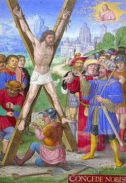 Св. Апостол Андрей Первозванный. Начало XVI века. Британская Библиотека.