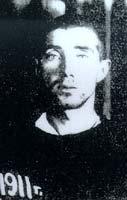 Заключенный Павел Груздев. Лагерная фотография из личного дела.
