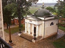 Спасо-Бородинский монастырь. Спасский храм.