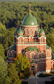 Спасо-Бородинский монастырь. Владимирский собор. Фотография Д.Волгина.