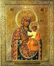 Черниговская-Гефсиманская икона Божией Матери. Празднование 1/14 сентября.