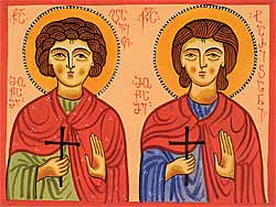 Holy Martyrs Davit and Tarichan.