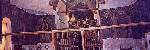 Внутренний вид храма преподобного Антония