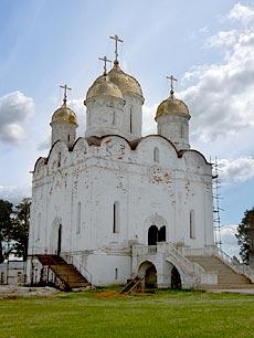Ферапонтов монастырь под Можайском. Собор Рождества Богородицы.