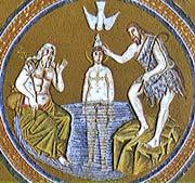 1. Арианский баптистерий в Равенне. 493-526 гг. Мозаики купола.