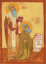 Sts. Ioane of Shavta and Evlogi the Prophet and Fool-for-Christ.