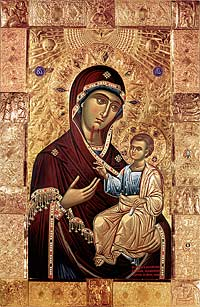 Sioni Cathedral's Iveron Icon of the Mother of God
