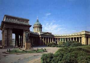 Мне очень нравятся Казанский собор и Исаакиевский.  Особенно Казанский кафедральный, созданный в честь...