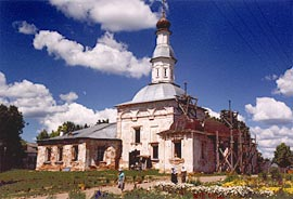 Колоцкий монастырь. Храм.