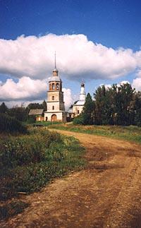 Колоцкий монастырь. Вид с дороги.