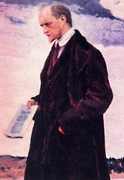 """Картина М. Нестерова """"Мыслитель"""" 1921-1922 гг."""