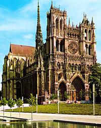 Кафедральный собор Пресвятой Богородицы г. Амьена (Notre Dame d'Amiens)