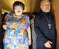 В. Новодворская и Г. Якунин