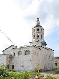 Свято-Пафнутьев Боровский монастырь. Трапезная палата с храмом во имя Рождества Христова