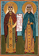 Saints Salome of Ujarma and Perozhavra of Sivnia (4th century)