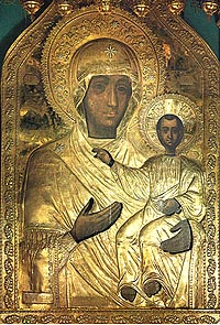 Чудотворная икона Божией Матери Одигитрия Смоленская.