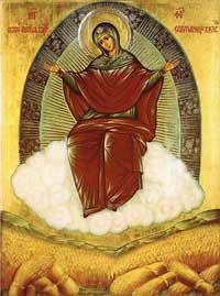 Икона Божией Матери Спорительница хлебов, празднование 15/28 октября.