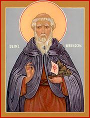 Святой Брендан-мореплаватель.