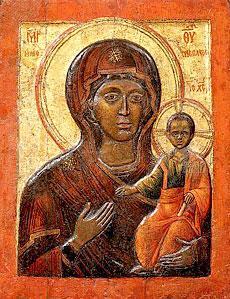 Икона Божией Матери Влахернская.