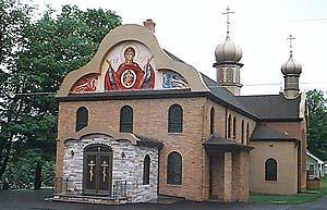 Свято-Тихоновский монастырь в штате Пенсильвания. Построен в 1905 году